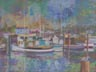 Fort Bragg Harbor (pastel, prints, note card, aceo, magnet)