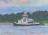 Foss On The Columbia River (pastel, prints, note card)