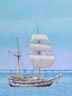 Hawaiian Chieftain (pastel, prints on paper and canvas)