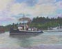 Marlin II (pastel, prints, note card)