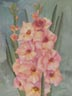 Peach Gladiolus (watercolor, prints, note card, ACEO)