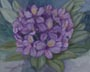 Purple Rhody (watercolor, prints, note card, ACEO)