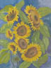 The Sunflowers (watercolor, prints, note card, ACEO)