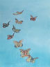 A Flutter Of Butterflies (pastel, prints on paper and canvas)