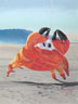Dancing Crab (pastel, prints on paper and canvas)