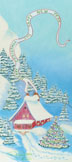 Chalet Christmas (pastel, prints on paper and canvas)