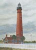 Ponce de Leon Inlet Lighthouse (oil, prints on paper and canvas)