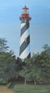 St. Augustine Lighthouse (oil, prints on paper and canvas)
