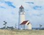 Cape Blanco Light Station (oil, prints on paper and canvas)