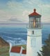Heceta Head Lighthouse (oil, prints, note card)