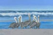 Seaview Seven (pastel, prints, note card, magnet, ACEO)