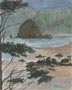 Haystack Rock (watercolor, prints, note card)