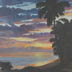 Hawaiian Sunset (oil, prints, note cards)