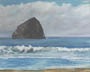 Pacific City (oil, prints, note card)