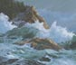 Rocky Shore (oil, prints, note card, ACEO, magnet)