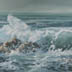 Surf Rising (oil, prints, note cards)